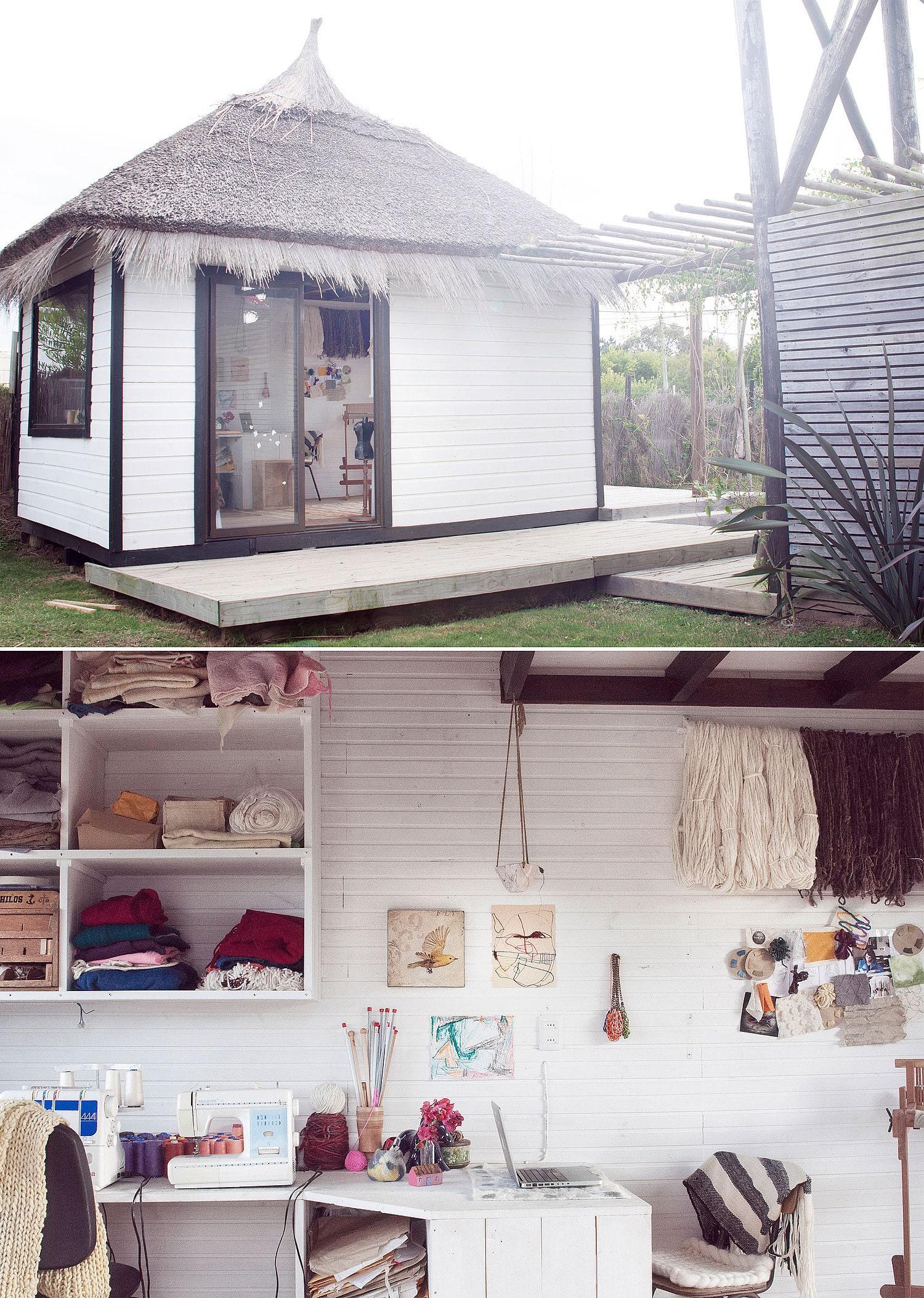 Claudia Rosillo's studio
