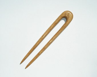 Red Oak Hair Fork (Round Top)