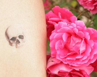 skull Temporary Tattoos, bachelorette tattoos, skull fake tattoos
