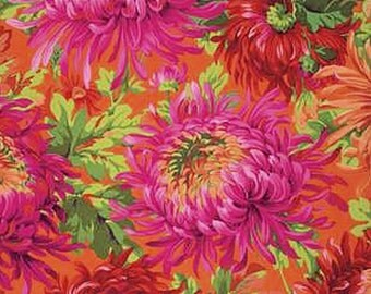 SHAGGY in RED by Phillip Jacobs Kaffe Fassett Collective 2015 PWPJ072 Westminster Fabric / 1/2 yard Cotton, Quilt Craft and Apparrell fabric