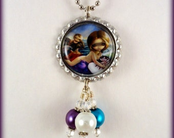 "Jasmine Becket Griffith  "" Amphitrite ""  necklace"
