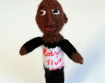 Titus Andromedon style finger puppet