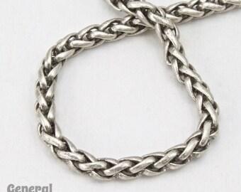 3mm Antique Silver Wheat Chain #CCG214
