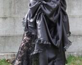 Sweet Temptation Steampunk Bustle Skirt High Low Long Short Custom Fit