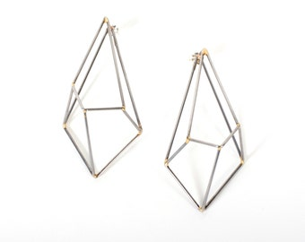 Crystallin Construction Earrings