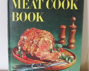 vintage Better Homes Meat cookbook