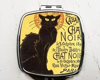 Le Chat Noir Pocket Mirror