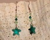 Your Choice Crystal Starfish Earrings