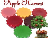 6 Apple Harvest Variety Pack Wax Tarts Wickless Candle Melts Autumn Fall Assortment Scents
