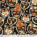 Cat-tastic Black by Maude Asbury - The Spooktacular Eve Collection - Halloween - Cats - Blend Fabrics - One Yard Quilting Weight Fabric