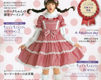 LOLITA Cosplay Vol7 n3980 Japanese Sewing Pattern Book