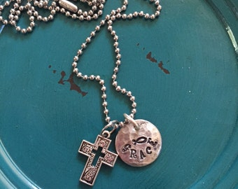 Christian Grace Soldered Necklace