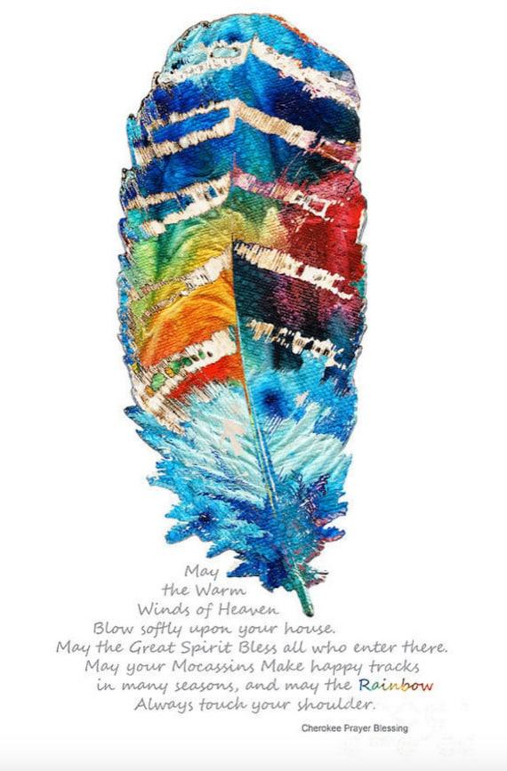 Boho Rainbow Wall Art