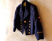 Antique Child's Nautical MIlitary Dress Jacket Wedding Ring Bearer Formal Military Event