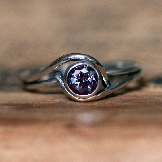 alexandrite ring june birthstone ring alexandrite by
