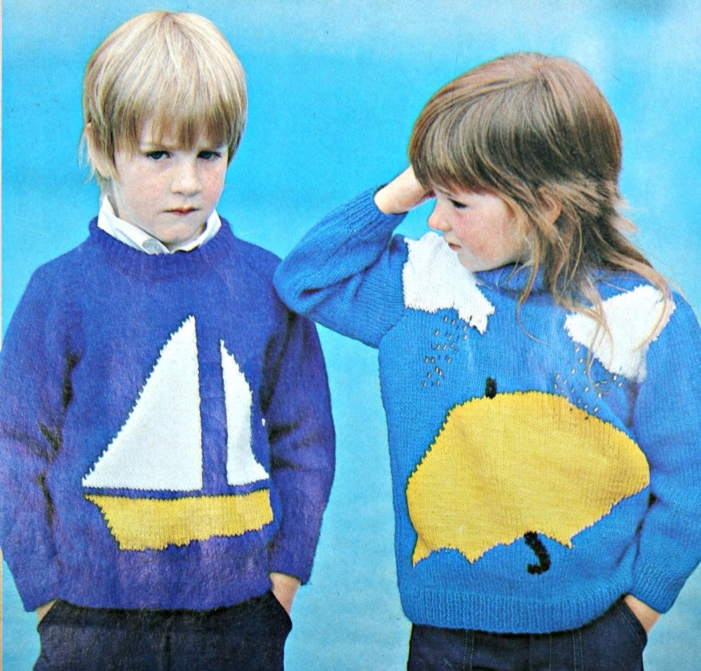 Knitting Pattern For Age : Kids Knitting Patterns Ages 2 to 8 Years Rene Tricots Special