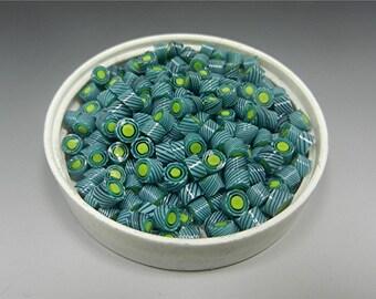 MURRINI Chips MURRINE for Lampwork Beads COE 104 Donna Millard sra Pinwheel Lilypads
