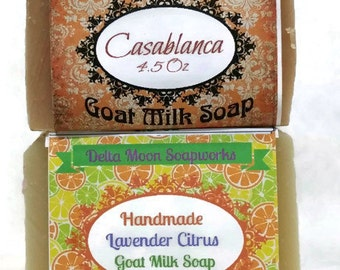 Lavender Soaps, Ready to ship, natural soaps, cold process soap, Goat Milk Soaps, citrus soaps, olive oil soap,  for sensitive skin,