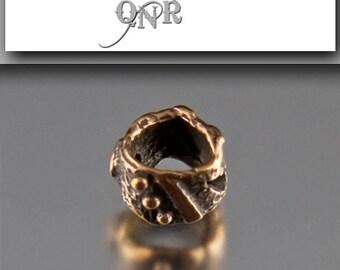 Bronze Big Hole Bead - Archaic Collection - 1101