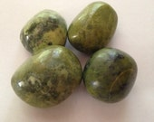 Serpentine Stone Tumbled    Meditation, Channeling, Guidance, Stone for Channeling, Green stones for healing, Shamanic Journey, Shamanism