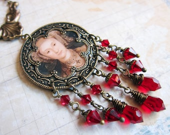 Tudor Ladies - Anne of Cleves - Medallion Necklace