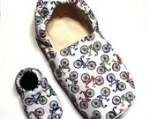 Bicycle Adult Slippers (with matching baby if you'd like!)
