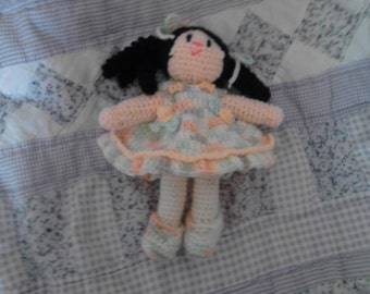 6.5in Curly Girl Doll 23