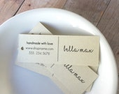 Personalized custom Tags, Custom Tags, Product Tags, Personalized Tags, Wedding Tags, Product Tags, Gift Tags, Personalized Tags - Set of 25