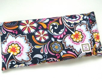 Microwavable Heating Pad, Removable Cover, Hot Cold pack, Muscle and Heat Therapy, Aromatherapy, Flower Fabric, Doula,