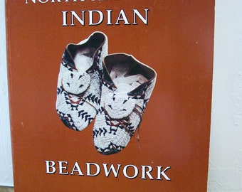 """Beadwork Book """"The Technique of North American Indian Beadwork"""" Monte Smith Bead Crafts How-To"""