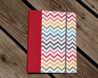 NEW LAYOUT!  Small Chevron Everyday Horizontal Planner - Any Start Month - Ready to ship!