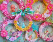 Valentine's Day..Baby Shower.. Birthday..Celabration Wreath..Home Decor..CUSTOM ORDER....Handmade and OOak!