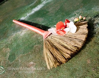 Wedding Broom- Jumping Broom - Custom Made for You-Various Colors