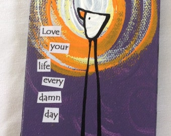 Love Your Life Magnet 3x6