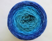 Andromeda Chromatic Gradient, 150g Lavish, dyed to order