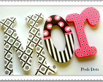 Teen Letters, Wooden Letters, Nursery Letters, Playroom Letters, Painted Wall Letters, Decorative Letters, Photo Prop Letters, Teenage Girl