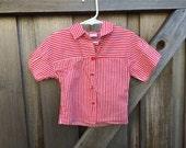 Striped Toddler Shirt 18-24 Months