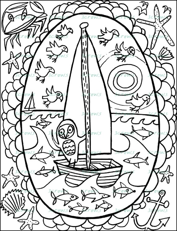 Whimsical Zentangle Coloring Pages Coloring Coloring Pages