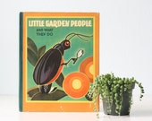 Vintage Book- Little Garden People and What They Do, by Ann Pearsall Sharp