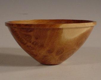 Coolibah Burl Wood Bowl Turned Wooden Bowl number 5944
