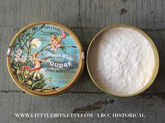 Authentic 1920s Makeup Tutorial French White Face Powder 1922 $18.00 AT vintagedancer.com