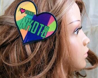 New Kids NKOTB I Love Donnie Hair Clip MTCoffinz