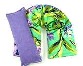 Spa Kit- Neck Wrap Eye Pillow Set  Hot/Cold Therapy,Heating Pad,Heat Pack,Rice Pack,Yoga,Holidays