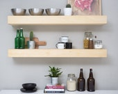 30 inch Veronica floating shelf, single shelf