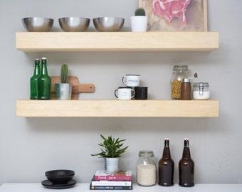 30 inch Veronica floating shelf, single shelf