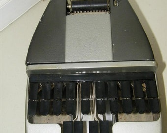 Vintage LaSalle La Salle Court Stenography Machine Stenotype 8061