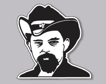 Grateful Dead Sticker Stone Jack Baller Pigpen Ron McKernan Vinyl Decal
