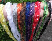 Wedding Handfasting Cord - Multi Colored single cords - U Choose from 12 different colors SIMPLE No BEADS