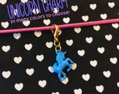 UNICORN CHARM (many colours to chose)