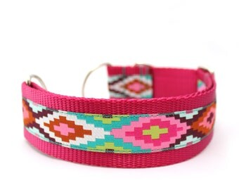 "1.5"" Cayucos buckle or Martingale Dog Collar"